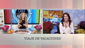 Viajes de vacaciones de VISA con Claudia Lombana
